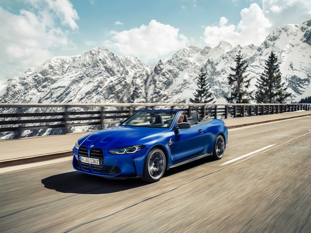 BMW M4 Competition Convertible M xDrive