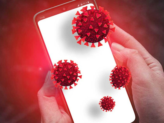 Is Your Cellphone a Trojan Horse for the Coronavirus?