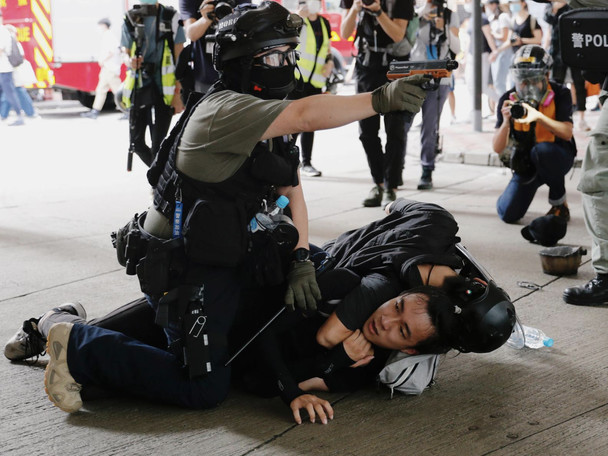 200 Arrested As Thousands Of Hong Kongers Protest New 'National Security' Law