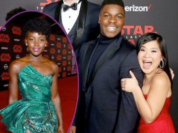 STAR WARS PREMIERE: Lupita Nyong'o SLAYED Us For Our Life + John Boyega Almost Missed His Own Premiere