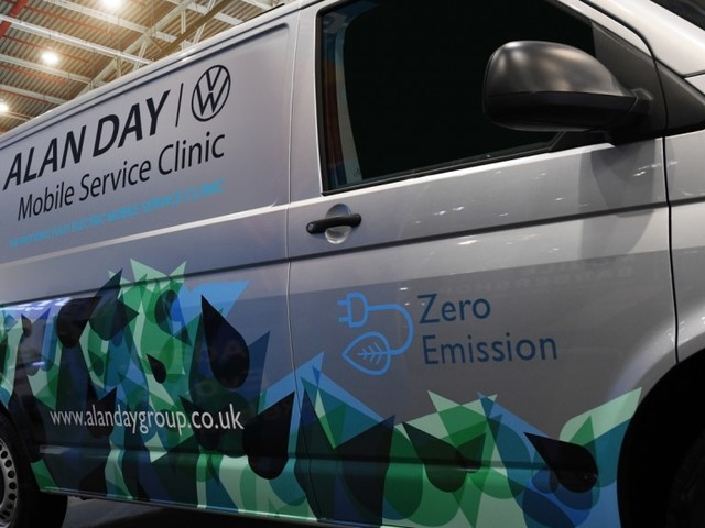 All-electric Volkswagen ABT e-Transporter Joins Mobile Service Clinic fleet