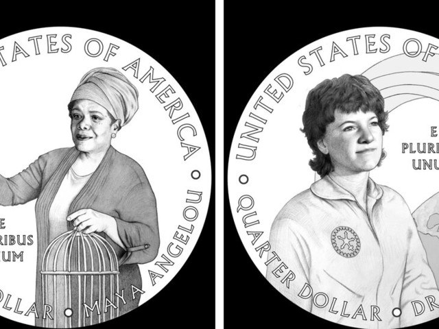 Maya Angelou and Sally Ride Will Be Honored on Quarters