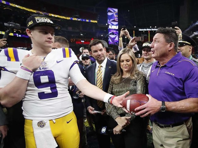 CFP lines: Clemson by 2 over Ohio State, LSU by 11 over Oklahoma