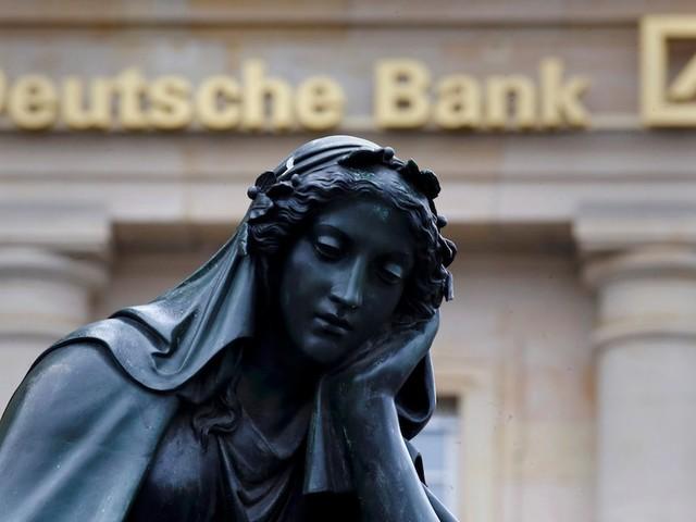 Deutsche Bank slides after layoffs begin as part of its $8.3 billion restructuring plan (DB)