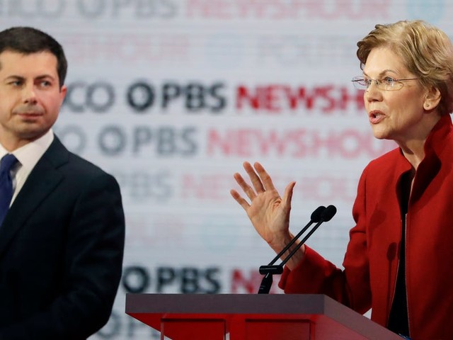 Everyone ganged up on Pete Buttigieg at the Democratic debate, and these numbers show why that was basically guaranteed