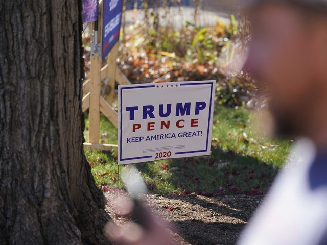 Opinion: When can I tell my neighbors it's time to take down their Trump signs?