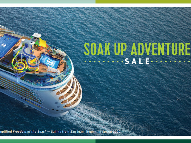 Bonus instant savings up to $150 on Royal Caribbean cruises booked this weekend