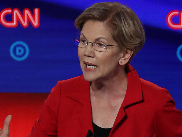 Will Warren Have a Bull's-eye on Her Back in Tonight's Debate?