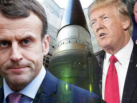 "Macron Urges European Nuclear Arms Control Initiative To Combat ""Unrestrained Arms Race"""