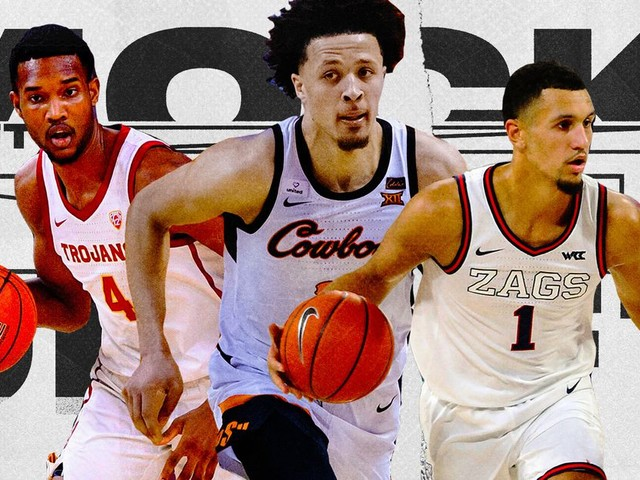 The latest 2021 NBA mock draft has 3 prospects separating from the pack