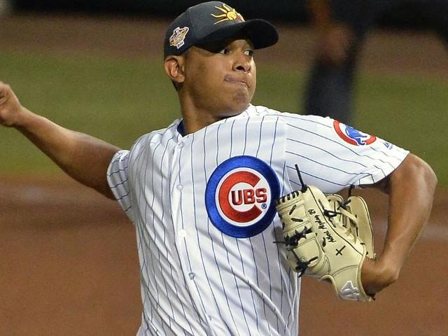 Cubs shut down top prospect Alzolay