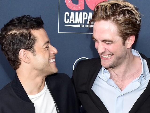 Robert Pattinson and Rami Malek's Mini Twilight Reunion Is Just What We Needed