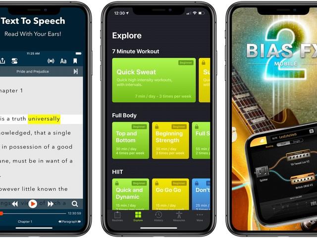 App Recap: Voice Dream Reader, SmartGym, BIAS FX 2, and Major App Updates