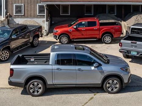 Comparison Tests: Midsize Trucks