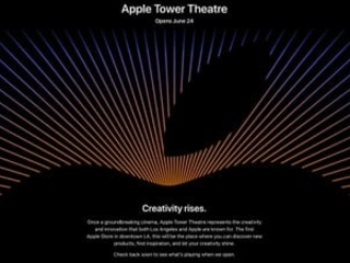 Apple's Flagship Tower Theatre Store Opening in Los Angeles on June 24