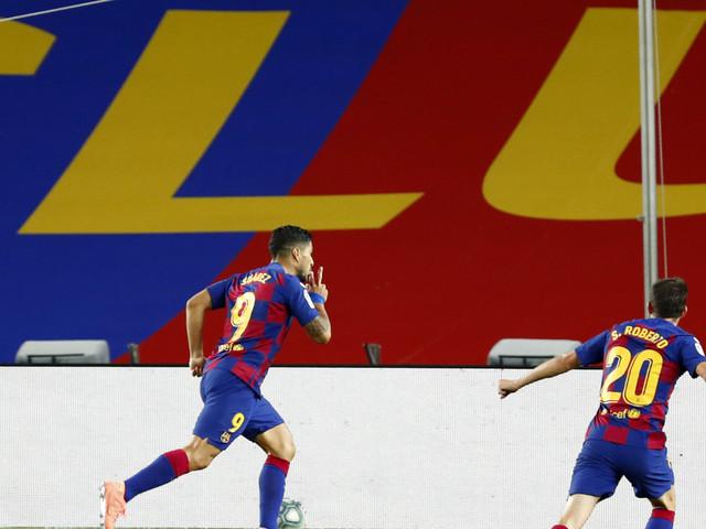 Barcelona wins derby against Espanyol, relegates city rival