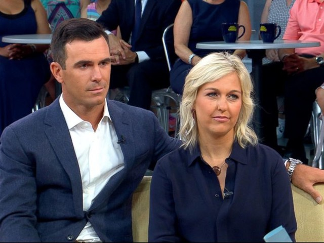 WATCH: Pro golfer Billy Horschel and his wife open up about her battle with alcoholism
