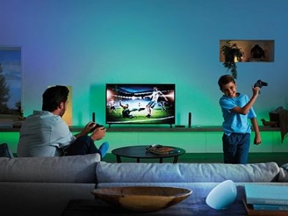 Grab the popcorn! The Philips Hue Play HDMI Sync Box will be available in the UK next week.