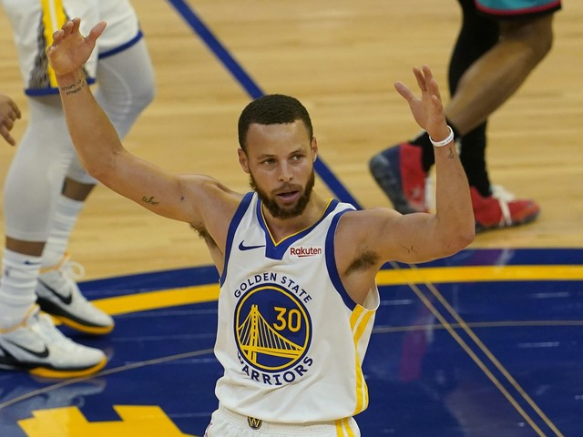 Warriors clinch No. 8 in the Western Conference, but they aren't in the playoffs yet. Here's why.
