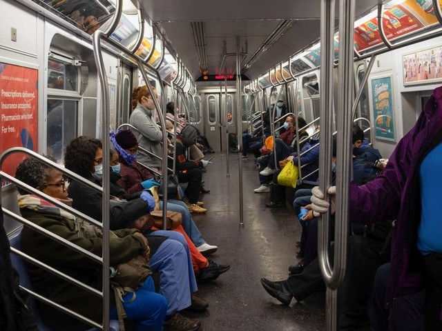 Gov. Cuomo says novel coronavirus can live on bus and subway surfaces for 72 hours, posing an ongoing concern for transit employees and riders