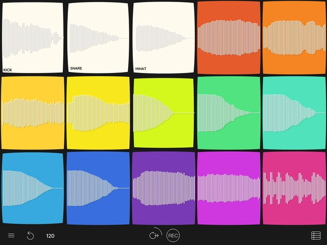 Samplebot brings simple and immediate sample fun to your iOS device