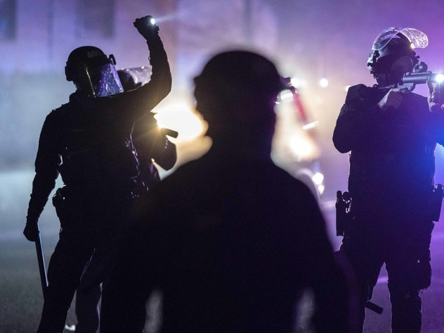 After 50 police officers resign, Portland grapples with its message vs. rising violence