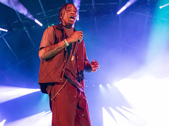 Travis Scott Injures Knee While Performing at Rolling Loud