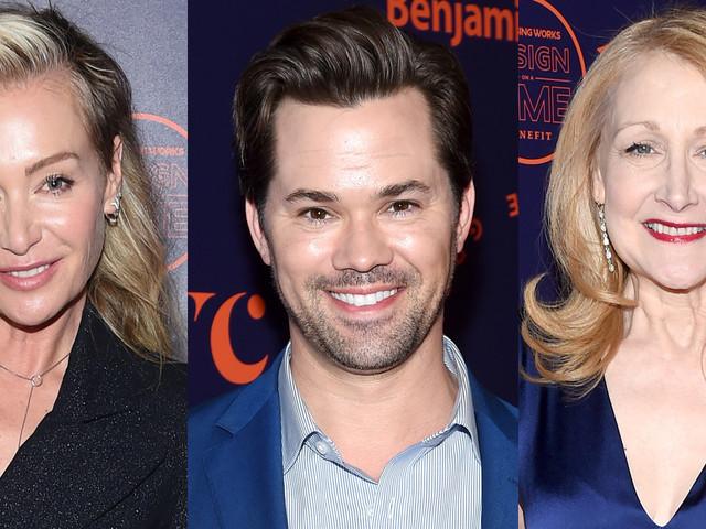 Portia de Rossi, Andrew Rannells, & Patricia Clarkson Attend Housing Works' Goundbreaker Awards