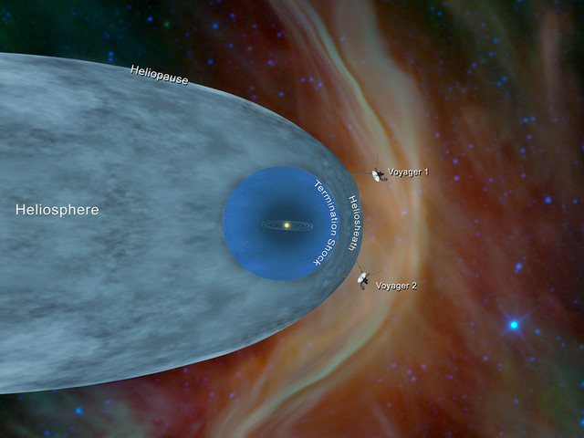 It's Official! NASA's Famed Voyager 2 Spacecraft Reaches Interstellar Space