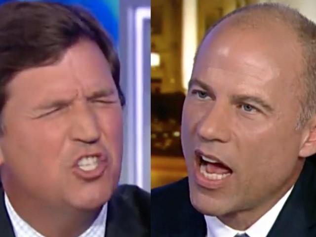 Watch: Tucker Carlson has a wild explosive debate with Michael Avenatti