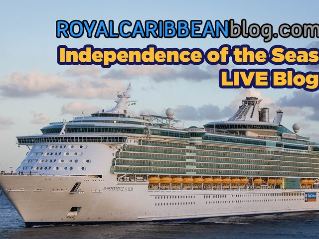 Live Blogging from Independence of the Seas - Preamble