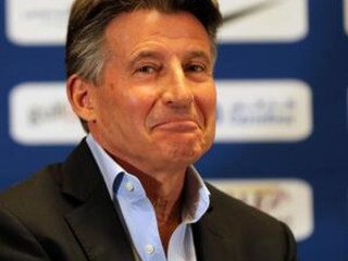 AP Interview: IAAF head Coe discusses Bolt, Coleman, Semenya