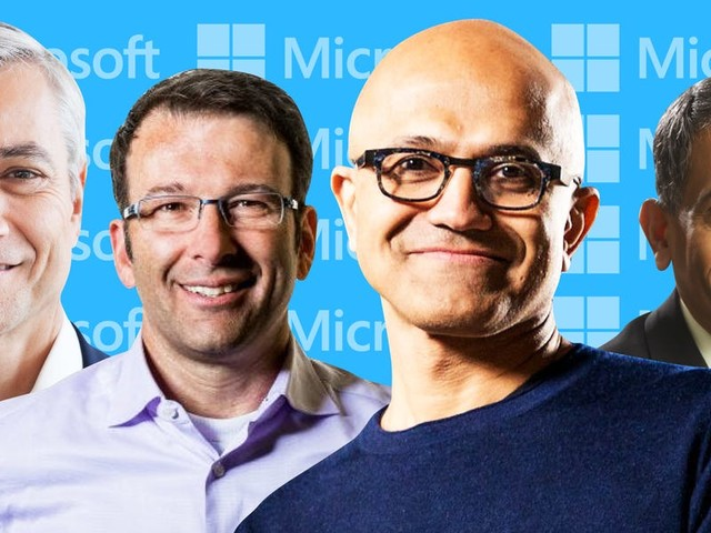 We identified the 175 most powerful people at Microsoft. Here's our exclusive org chart. (MSFT)