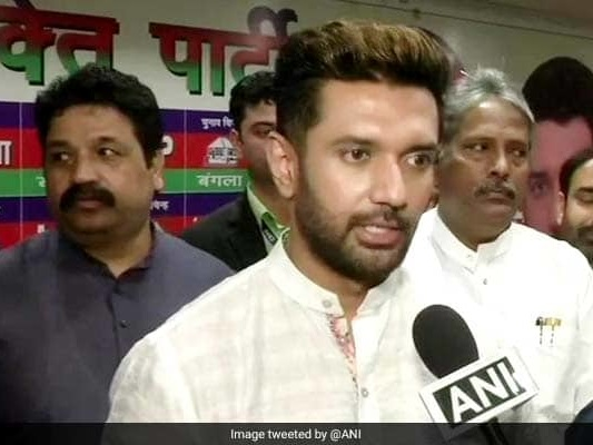 """Too Late"": Chirag Paswan Downplays Giriraj Singh Outburst Over Nawada"