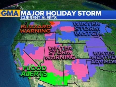 Nightmare Storms Continue To Disrupt Travel