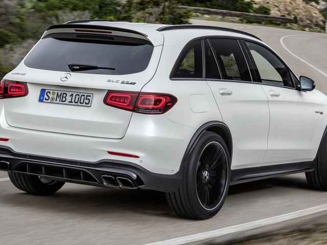 2022 Mercedes-AMG GLC 63 S SUV Finally Arrives In The US