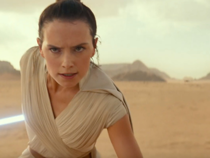 Watch the first trailer for 'Star Wars: The Rise of Skywalker'