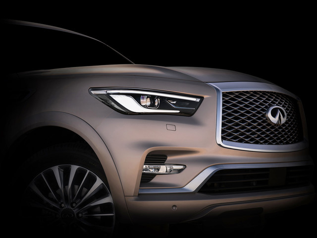 Infiniti Teases The Upcoming QX80 Redesign