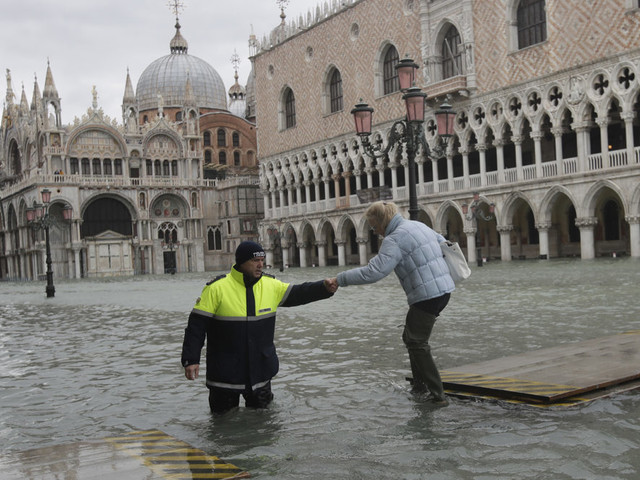 Venice Is The Latest Victim Of Historic Flooding From Climate Change