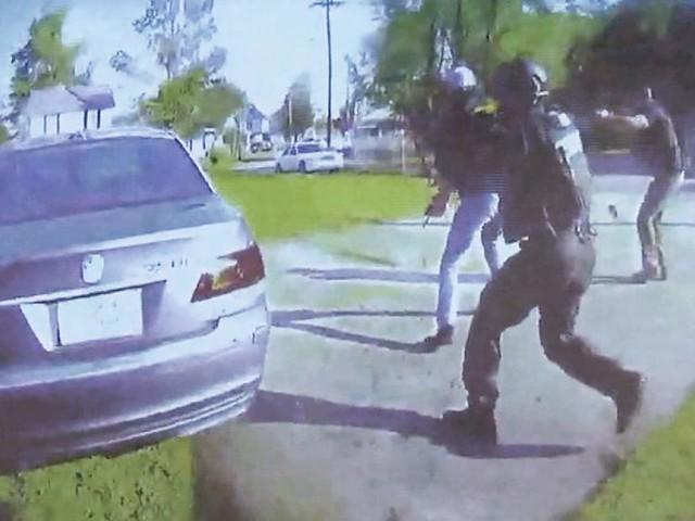 Body-cam video in shooting of Andrew Brown Jr. shown to public for the first time