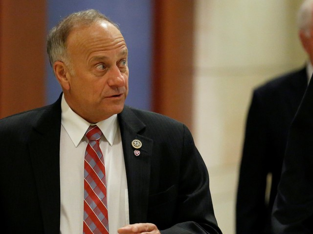 Rep. Steve King said he drank water out of a toilet at a migrant detention facility and it was 'pretty good'