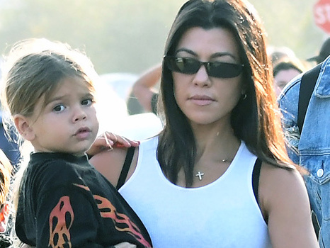 Kourtney Kardashian Calls Her Son Reign, 4, 'Tarzan' As He Effortlessly Tackles The Monkey Bars In Japan