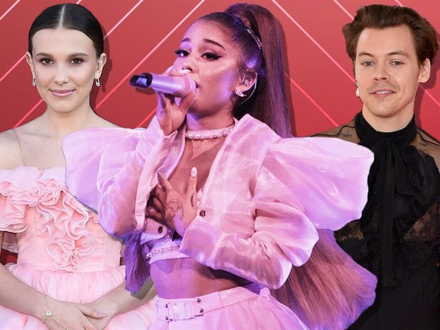 Millie Bobby Brown & Harry Styles at Ariana Grande Concert
