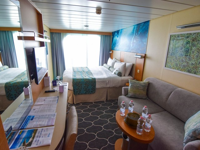 Category 2C Ocean View Stateroom with Large Balcony on Oasis of the Seas Photo Tour