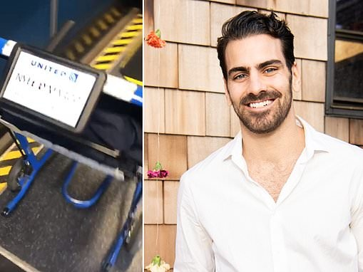 Nyle DiMarco shames United for bringing him a WHEELCHAIR