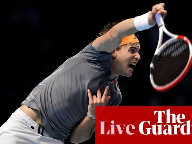 Dominic Thiem beats Roger Federer at ATP Finals – as it happened