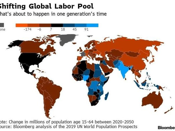 6 Charts That Show How Africa's Workforce Will Surpass Asia's By 2100