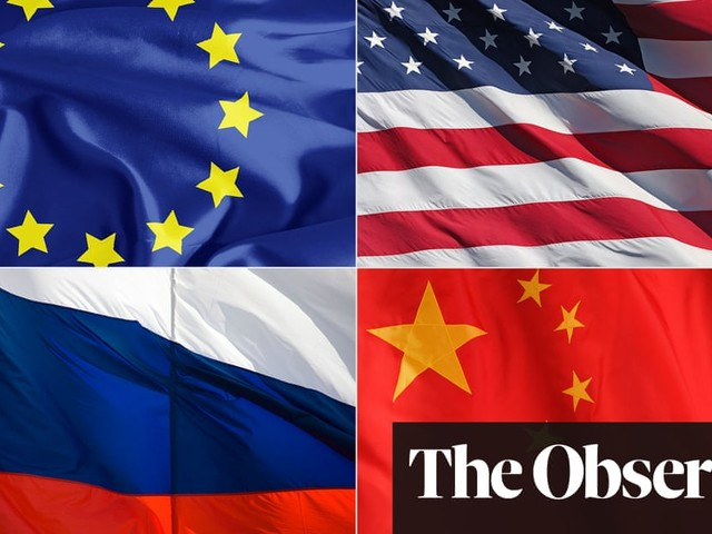 Rivals in the scramble to be the world's 21st-century superpower