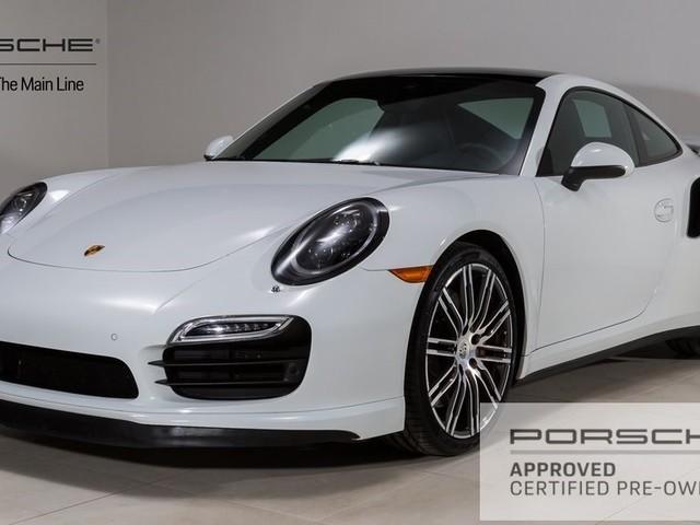 2016 Porsche 911--Turbo