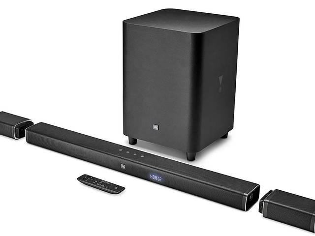 Save $200 on the crazy JBL sound bar with ends that pop off to become surround sound speakers